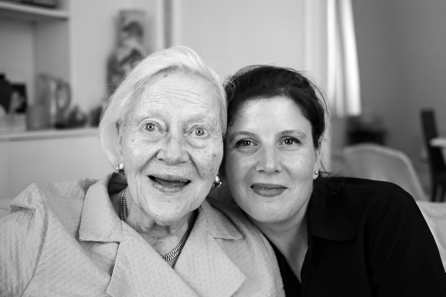 Delphine and her grandmother